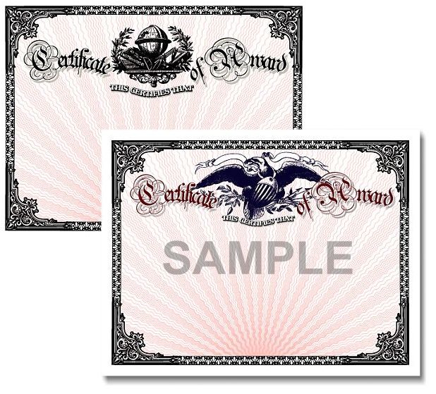 sample award certificates photos new calendar template site