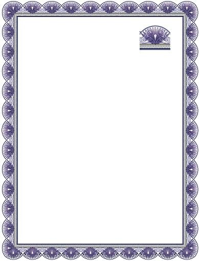 Certificates certificate designs in vector format complete certificate border in vector format yadclub Image collections